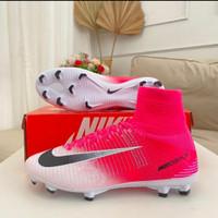 Sepatu Bola Nike Mercurial Superfly V Pink Race FG