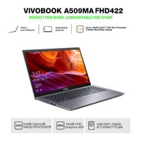NOTEBOOK ASUS A509MA FHD422 N4020 4GB 256GB Pcie+HOUSE WIN10+OHS GREY
