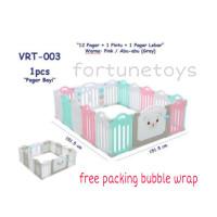 Baby Fence Pagar Bayi Babyroom Pagar Playground (12+2) Vrt-003 Terlari