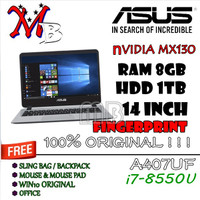 Asus A407UF / i7-8550U / NVidia MX130 / 8GB RAM / 1TB HDD / 14INCH-W10