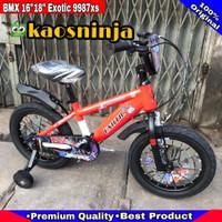 SEPEDA ANAK BMX 16 INCH EXOTIC ET9987SX TRANSFORMER 18 INCH ET 9987SX - Orange, 16 Inch