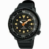 Seiko Prospex SNE577P1 Baby Tuna Solar Black Series Limited Ed Sne577