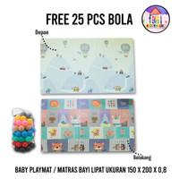 FREE Mandi bola - XPE mat baby playmat/ Matras Lipat buat anak - No4