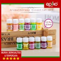 Aroma Terapi Aromatherapy Essential Oil Humidifier isi 12 Pcs 3ml