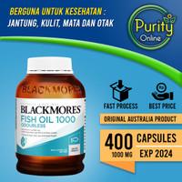 Blackmores Odourless Fish Oil 1000 mg - 400 Capsules (Original)