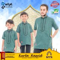 Baju Koko Kurta Pakistan Couple Ayah dan Anak Kokoh Muslim Rasyid Arra
