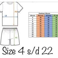 Setelan Baju Bola Anak/ Jersey Bola+Futsal Terbaru /Size 16-18-20 Buat