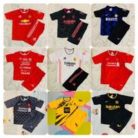 Bisa Cod/ Stelan Kaos Bola Anak Termurah Semua Ukuran/ Baju Futsal