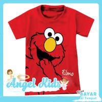 Baju Anak Perempuan/ Kaos Anak Laki-laki ELMO 1 - 10 Tahun