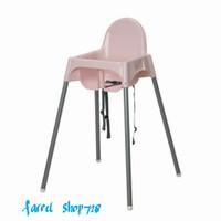 Ikea Kursi Makan Anak Bayi Dengan Tali Pengaman Ikea High Chair Pink