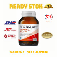 Balckmores vitamin D3 1000IU isi 200 tablet