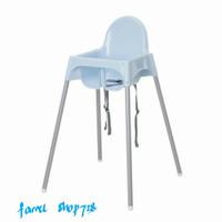 Ikea Kursi Makan Anak Bayi Dengan Tali Pengaman Ikea High Chair Blue