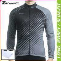 Lets Grey to The Black - Jersey Road Bike Tangan Panjang Baju Gowes