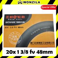 CST Ban Dalam Sepeda Lipat BMX 20 x 1 3 per 8 FV 48mm Presta