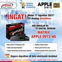 Receiver set top box dvbt2 matrix apple hd antena tv digital