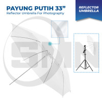 Payung Studio Putih 33 Inch Umbrella reflector white