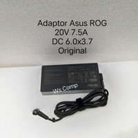 Adaptor Charger Asus Tuff 20V 7.5A DC 6.0x3.7 Free Kabel Power