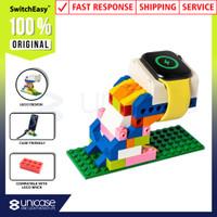 Holder Handphone SwitchEasy Blocks Charger Dock Apple Watch Lego Stand
