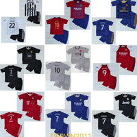 Setelan Baju Bola Anak-Anak /Jersey Bola+Futsal/Musim Terbaru/ Size 22