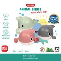 IQANGEL WHALE WATER TOYS / Mainan Air Ikan Paus / Mainan Mandi bayi