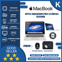 APPLE MACBOOK PRO 13 MD101 i5 4GB 128GB SILVER SECOND