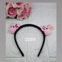 Bando Ala Korea 1pcs Bando Kekinian Karakter Kpop - Cooky, 1 pcs