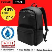 Backpack Waterproof/Tas Pria Waterproof/Backpack Impor Murah-Black