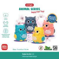 IQANGEL HAPPY OWL TOYS / Mainan Edukasi Bayi / Mainan Motorik Anak