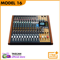 Tascam Model 16 (16 channel Analog Mixer + Multitrack Recorder)