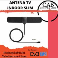 Antena TV Indoor Digital Tempel dinding DVBT2 | Antena dalam DVBT2
