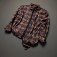 [New]Kemeja flanel lengan panjang pria brand Brill eightyeight shirt-9