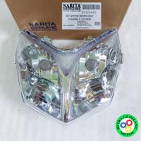 REFLEKTOR LAMPU DEPAN HONDA SUPRA X 125 NEW BIASA
