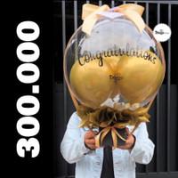 Bunga Box / bloombox / Parcel balon / Balon ucapan