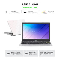 NOTEBOOK ASUS E210MA GJ422TS N4020 GRAPIC 600 4G 256GB WIN10+OHS WHITE