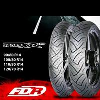 Paket Ban Motor Matic FDR Sport XR Evo (Tubeless) 80/80 + 100/80 - 14