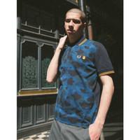 Bape x Fred Perry Polo Shirt Navy 100% Original