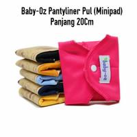 Menspad Baby-Oz Pantyliner PUL/Minipad Polos  Pembalut Kain Cuci Ulang