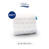Bantal Pinggang Ergonomic Latex/Willow Pillow Ergo Back Cushion Latex