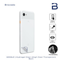 Hydrogel Clear Google Pixel 3A Belakang Screen Anti Gores Full Cover
