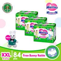 Merries Pants Good Skin XXL 28S Triple Pack FREE Gift