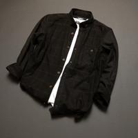 [New]Kemeja Flanel pria lengan panjang premium quality unisex shirt-2