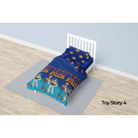 Bed Cover California Single 120x200 Motif Toy Story 4
