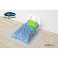 Bed Cover California Single 120x200 Motif Bugs Bunny