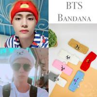 Bandana Bando BT21 Korea/Headband BTS/Hairband BT21 Murah Import