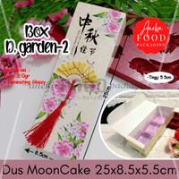 Dus box kotak kue bulan MOONCAKE kuning kipas (D garden 2)
