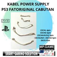 Kabel Soket Power Supply PS3 FAT/ Mesin PS3 FAT