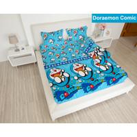 Lady Rose - Sprei Queen Doraemon Comic