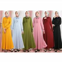 Parsel ramadan gamis plisket gamis wanita gamis jumbo gamis kekinian
