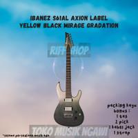 GITAR ORIGINAL IBANEZ S61AL AXION LABEL YELLOW BLACK MIRAGE GRADATION