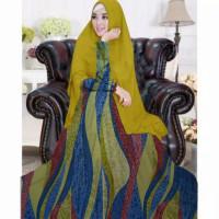 Azka gamis murah monalisa set hijab dress muslim wanita terbaru